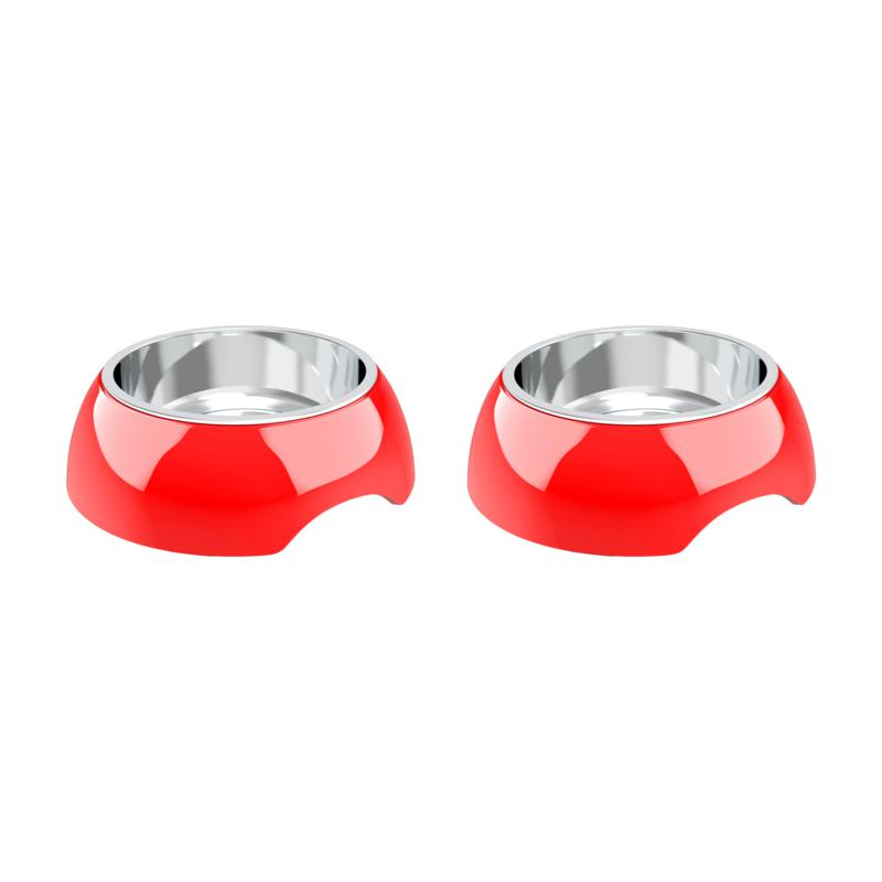 PETMAKER 24 fl. oz. Raised Nonslip Pet Bowls - Set of 2