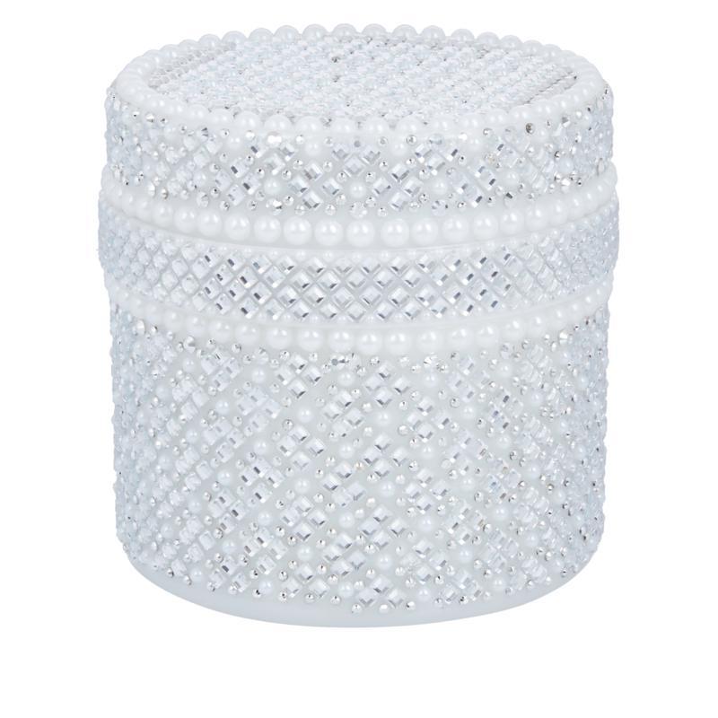 PRAI 6.8oz Ageless Throat & Decolletage Creme in Pearl Bejeweled Jar
