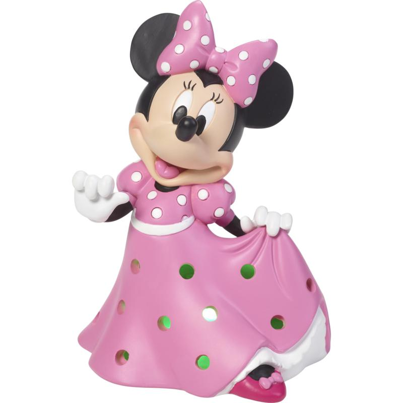 Precious Moments Disney Showcase Minnie Mouse LED Musical Figurine