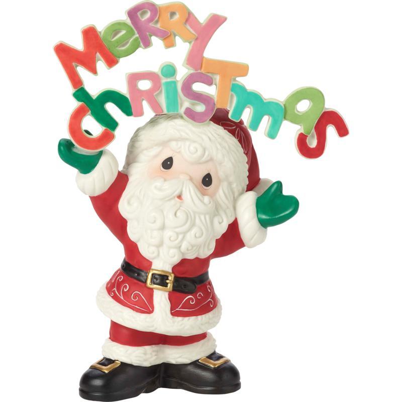 Precious Moments Merry Christmas To All 11th Annual Santa Figurine
