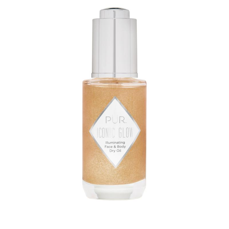PUR Cosmetics Crystal Clear Iconic Glow Face and Body Illuminating Oil
