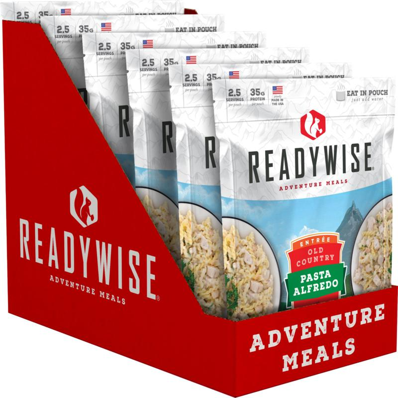 ReadyWise 6 CT Case Old Country Pasta Alfredo with Chicken