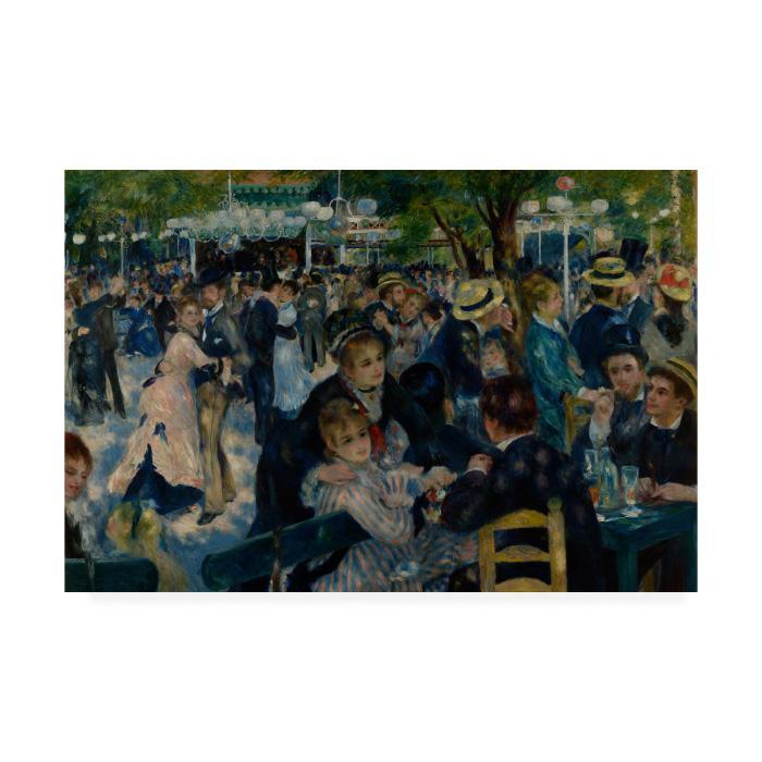 Renoir 'Le Moulin de la Galette' Canvas Print - 19x14