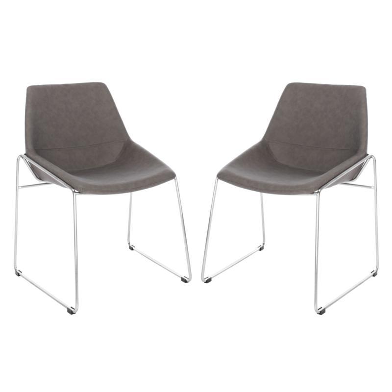 Safavieh Alexis Mid-Century Dining Chair - Set of 2