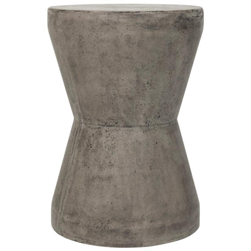 Safavieh Torre Concrete Accent Table - Gray