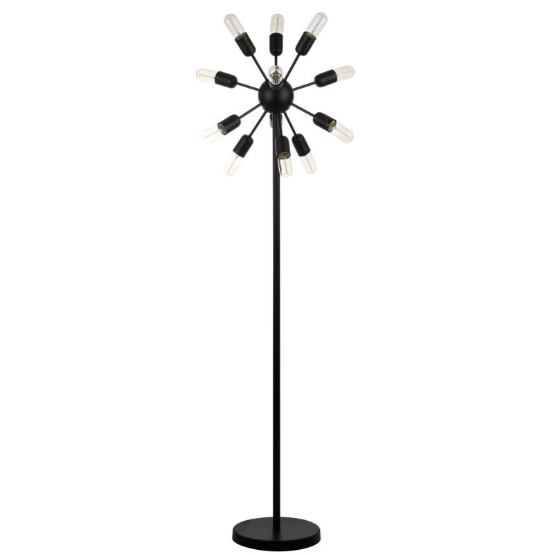 """Safavieh Urban 12-Light 67-1/2"""" Retro Floor Lamp"""
