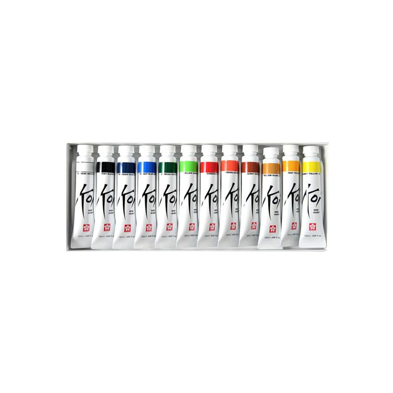Sakura Koi Watercolor 12-Tube Set