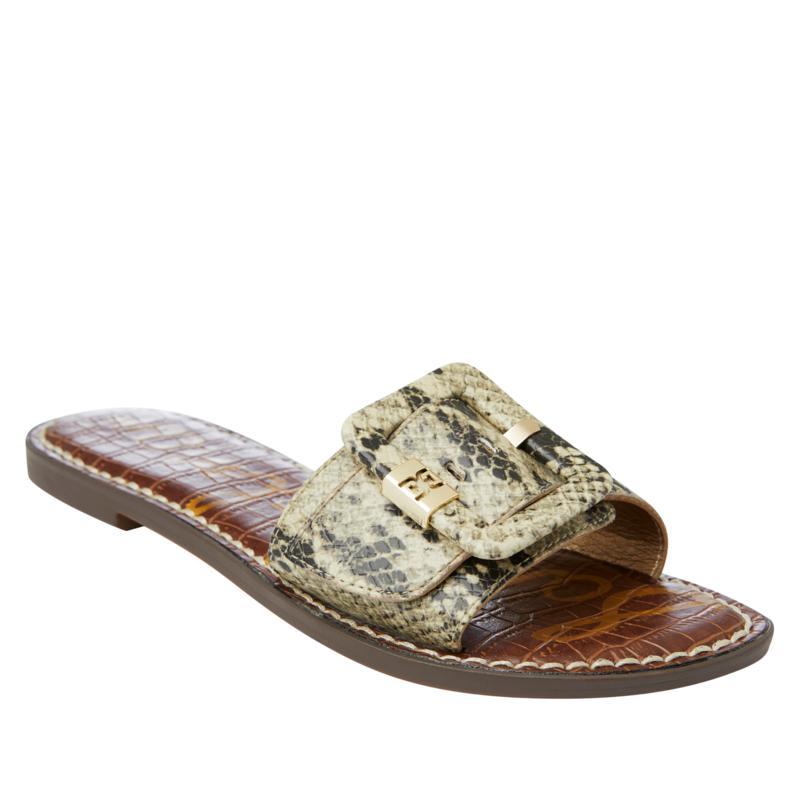 Sam Edelman Granada Leather Slide Sandal