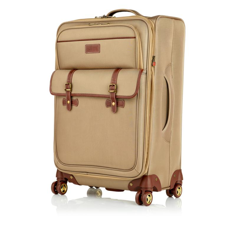 """Samantha Brown 26"""" Expandable Upright Spinner"""