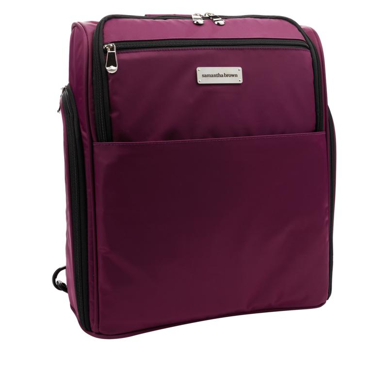 Samantha Brown Nylon Backpack