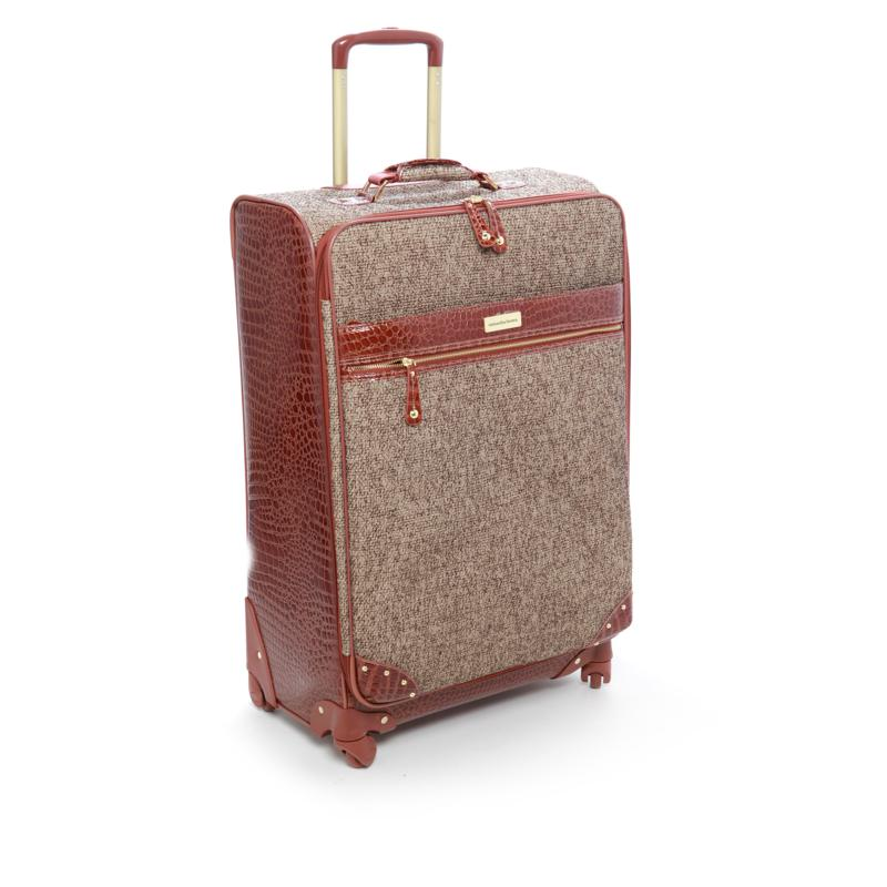 "Samantha Brown Tweed 26"" Upright Spinner"