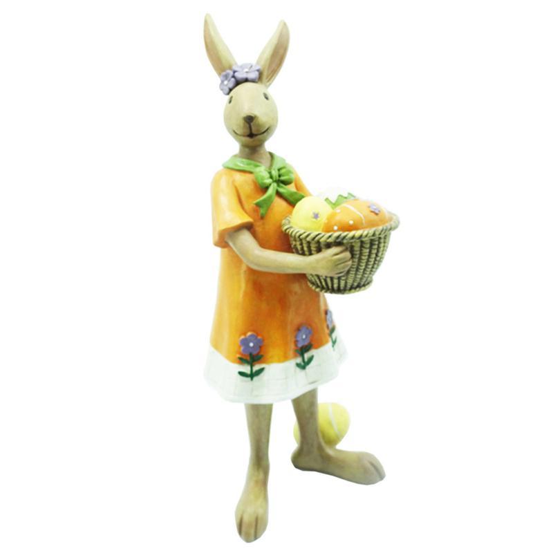 Santa's Workshop Mrs. Rabbit with Egg Basket