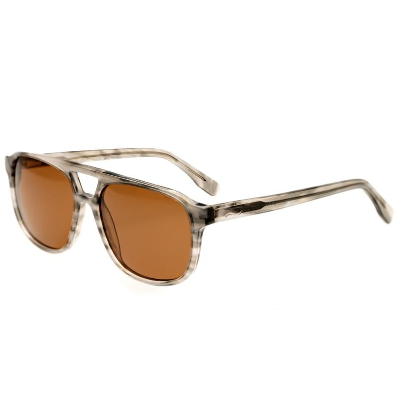 Simplify Torres Polarized Sunglasses - Smoke Frames and Black Lenses