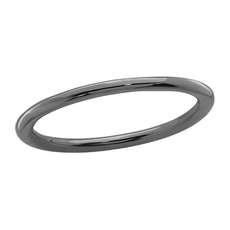 Simply Stacks™ 1.5mm Sterling Silver Polished Stackable Band Ring