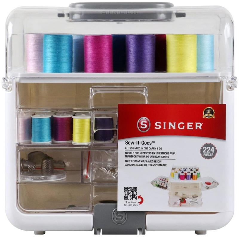 Singer Sew It Goes Essentials 224-piece Sewing Kit