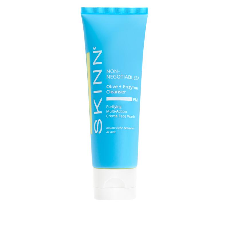 Skinn® Cosmetics Non-Negotiable Olive & Enzyme PM Facial Cleanser