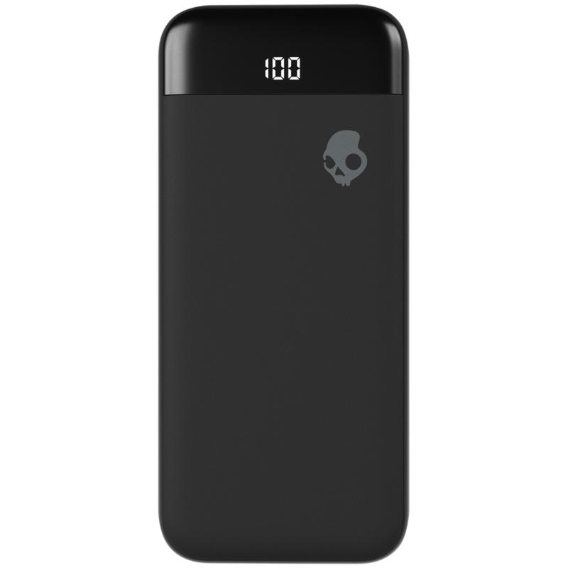 Skullcandy Stash Fuel Portable Battery and Wireless Charger in Black