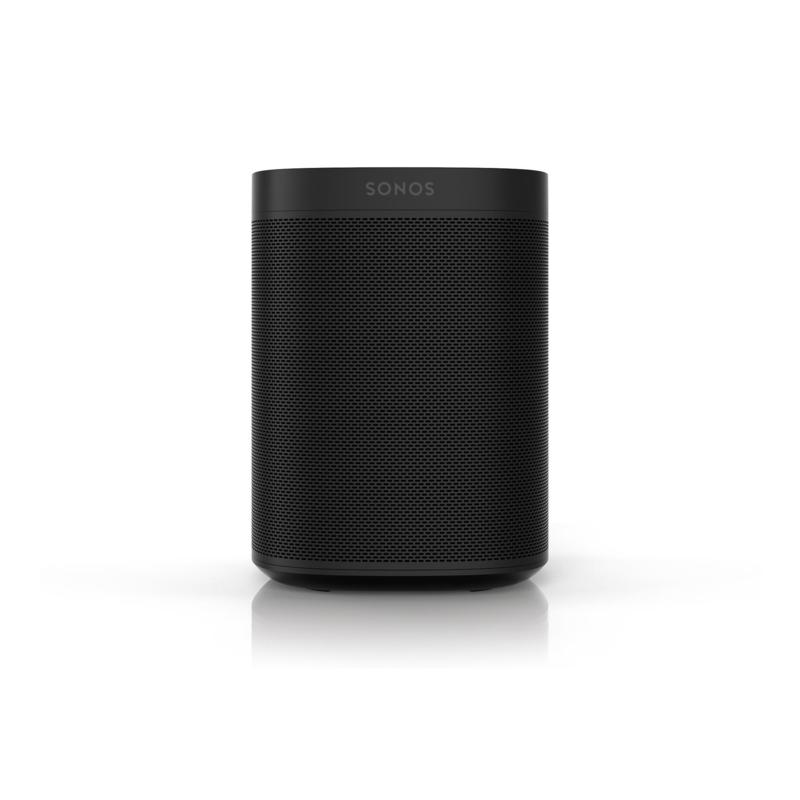 Sonos One SL Compact Wireless Microphone-Free Smart Speaker - Black