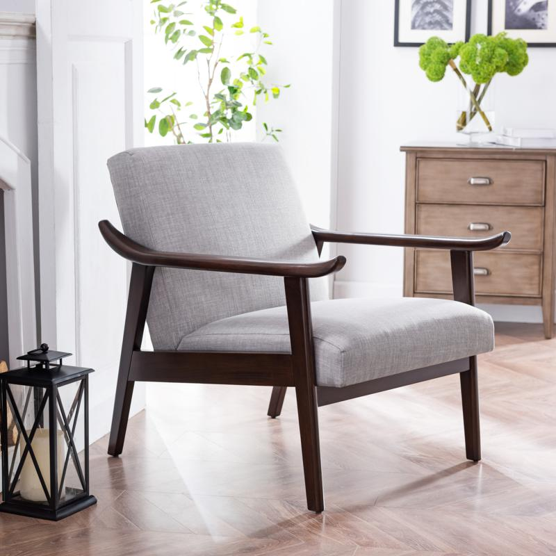 Southern Enterprises Mabel Upholstered Arm Chair
