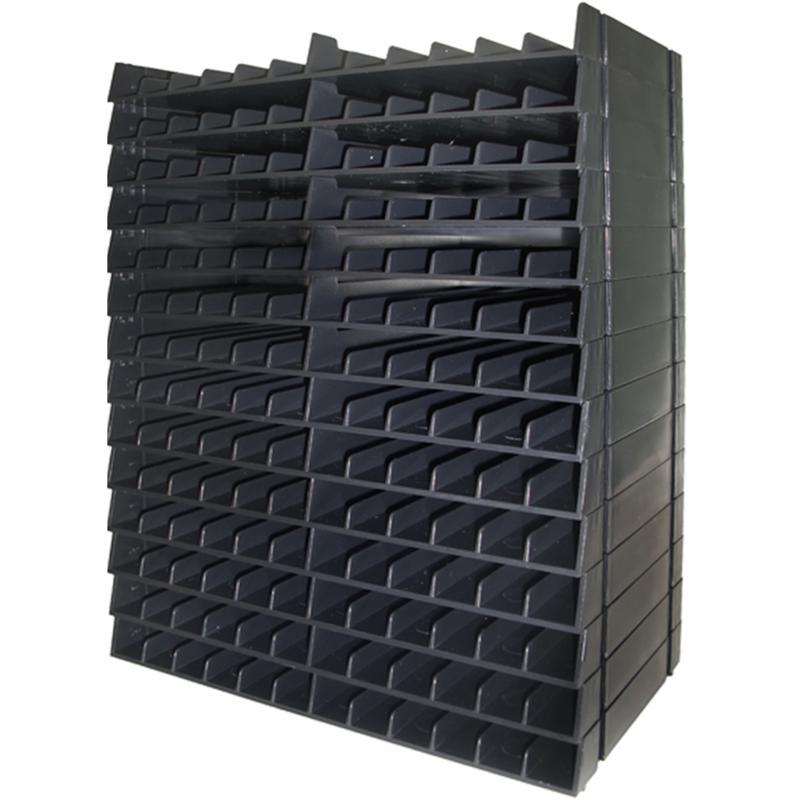 Spectrum Noir Marker Storage Racks Black 14-pack - Holds 168 Markers