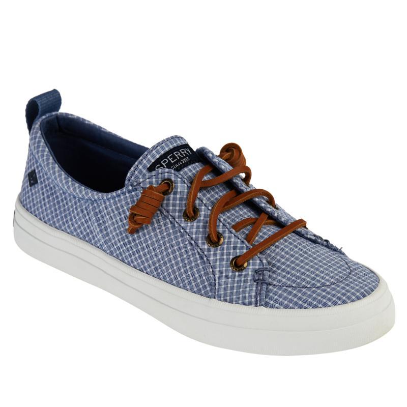 Sperry Crest Vibe Mini-Check Sneaker