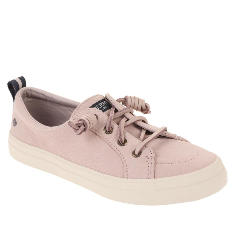 Sperry Crest Vibe Washable Leather Laced Slip-On Sneaker