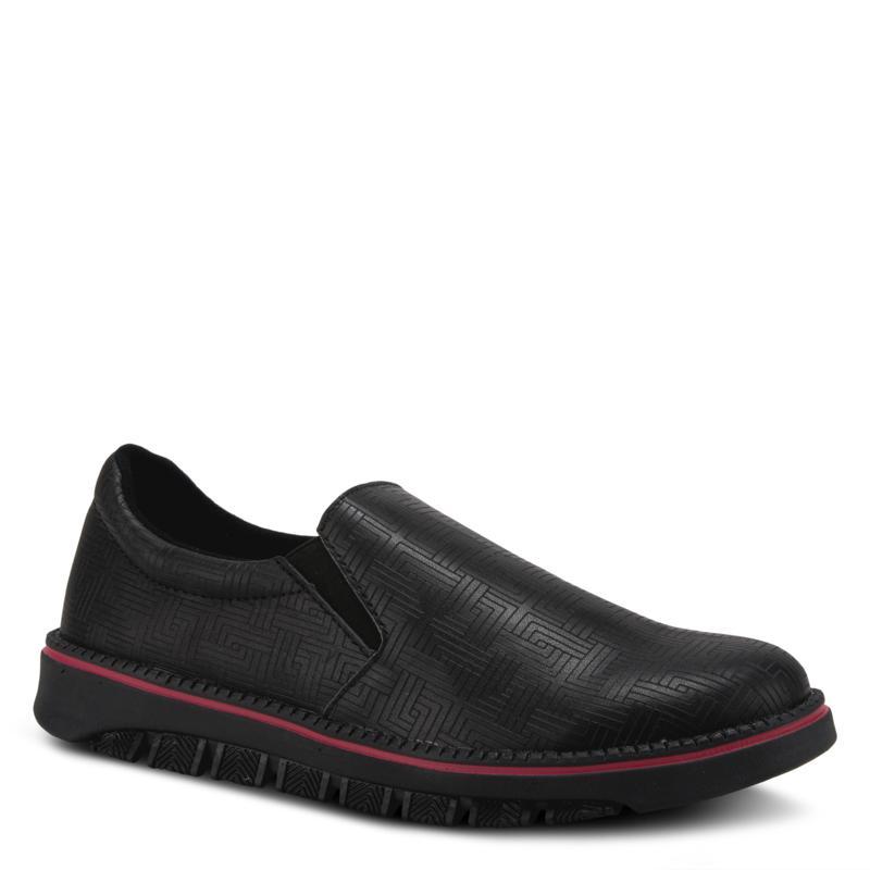 Spring Step Professional Men's Leather Power-Maze Slip-On Shoe