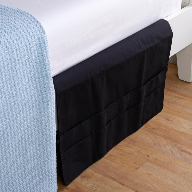 StoreSmith Bedside Caddy with 6 Pockets - Large