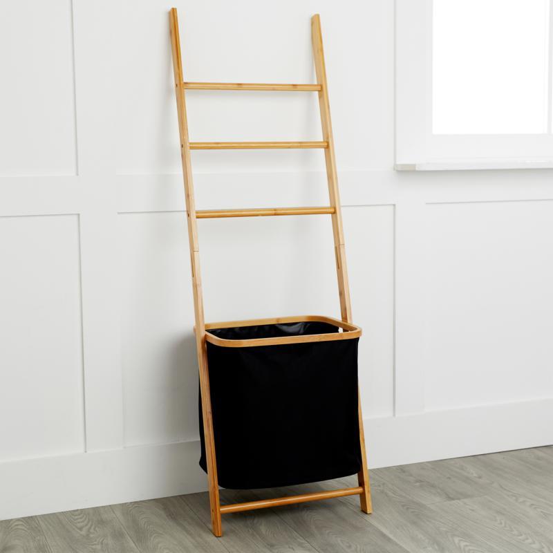 StoreSmith Ladder with Hamper