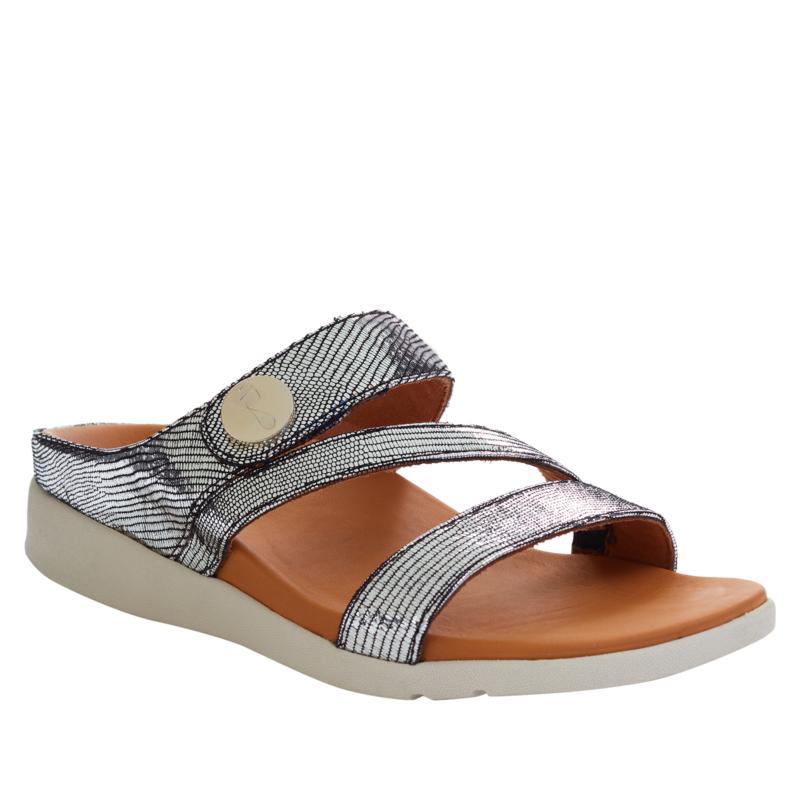 Strive Azore Leather Z-Strap Orthotic Sandal