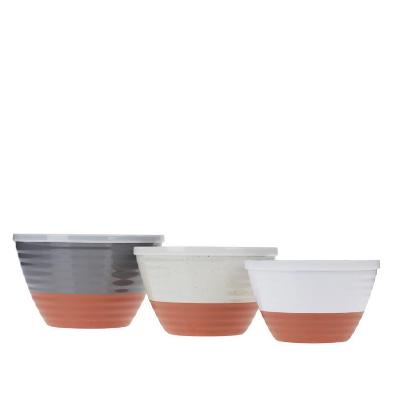 Terranotta 3-piece Melamine Mixing Bowl Set