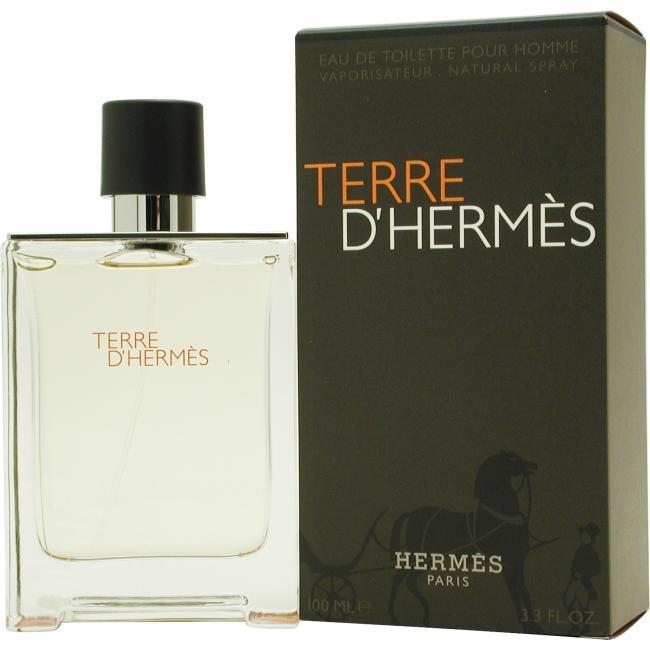 Terre Dhermes by Hermes EDT Spray for Men 3.3 oz.