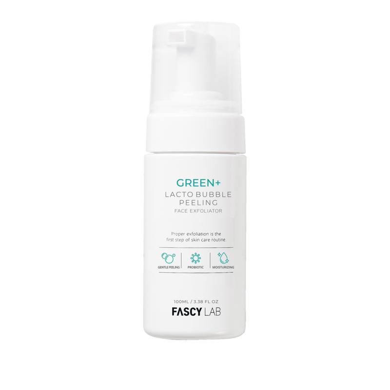 The Beauty Spy Green + Lacto Bubble Peel