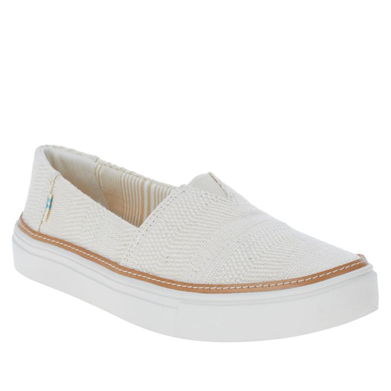 TOMS Parker Linen Slip-On Shoe