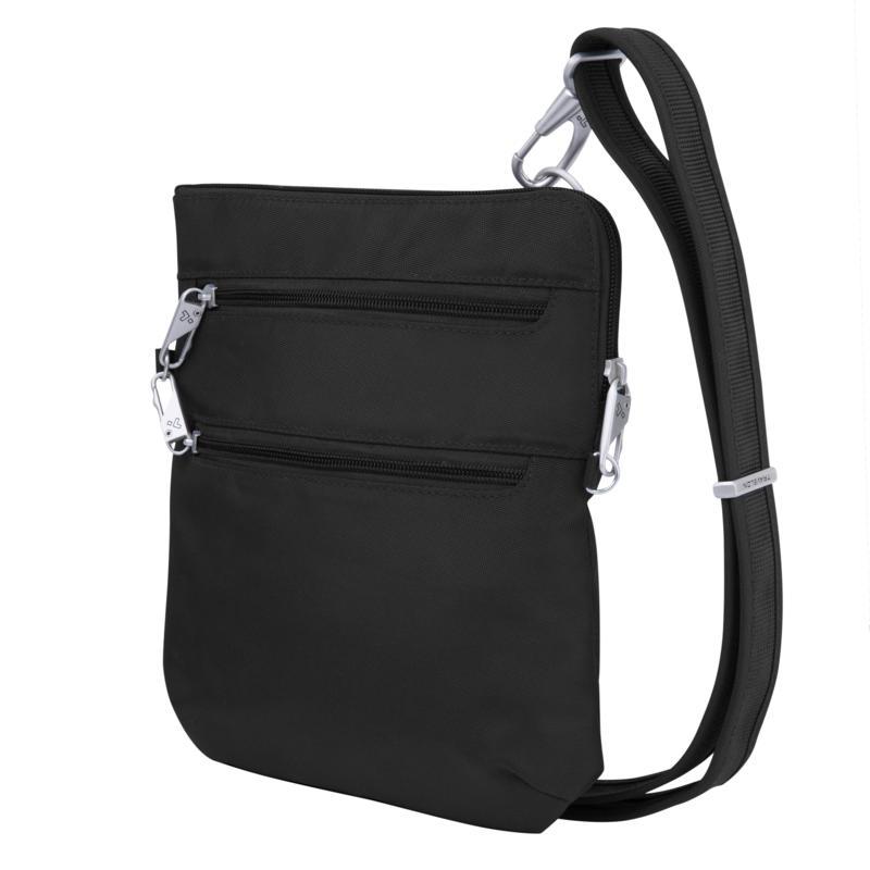 Travelon Classic Anti-Theft Slim Double Zip Crossbody