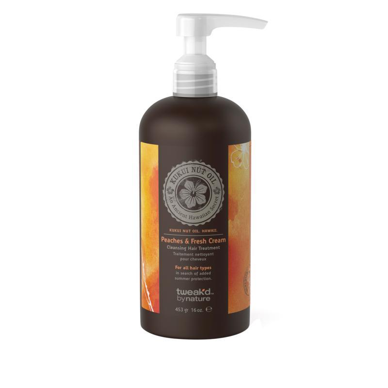 Tweak-d by Nature Peach Cream Cleansing Hair Treatment
