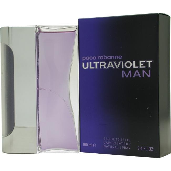 Ultraviolet by Paco Rabanne EDT Spray for Men 3.4 oz.