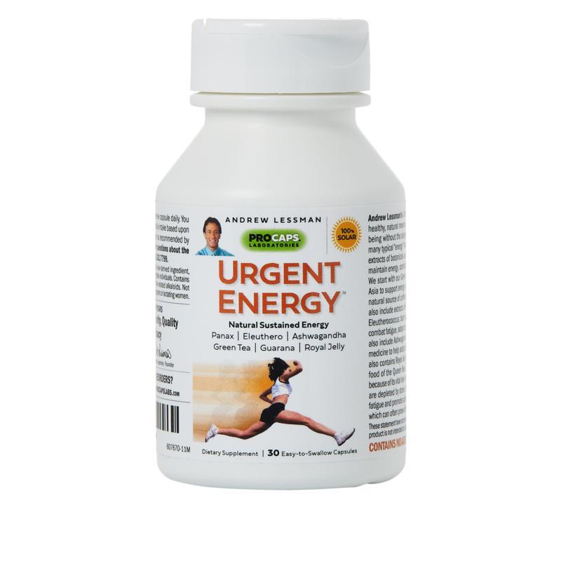 Urgent Energy - 30 Capsules