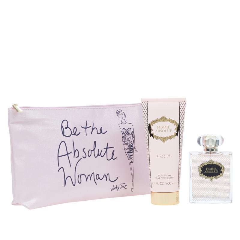 Vicky Tiel Femme Absolue 3-piece Fragrance Set