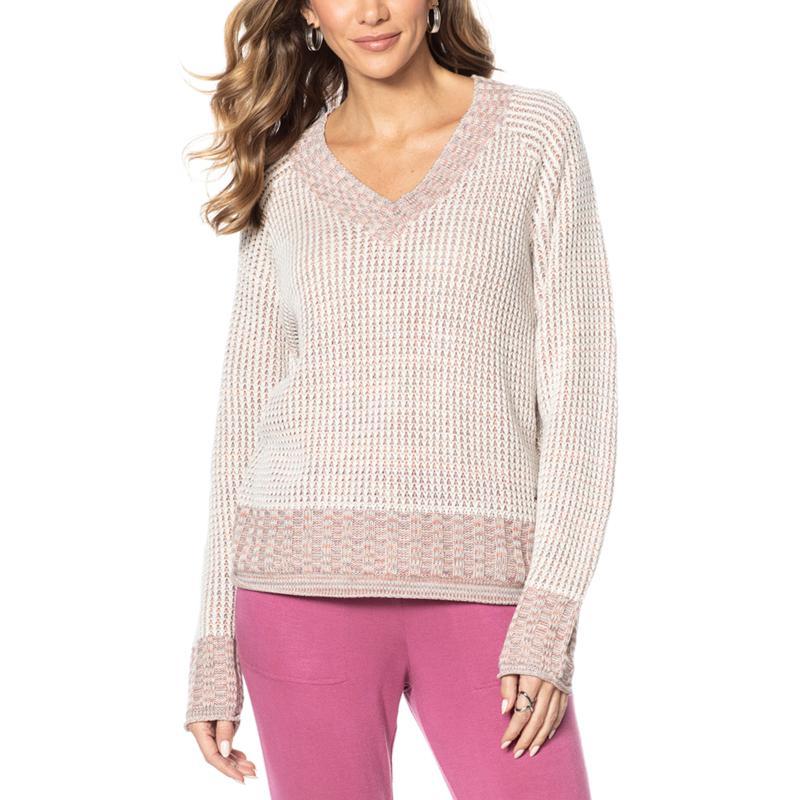 Vintage America Multi-Tone Knit Sweater