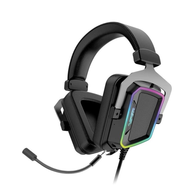 Viper V380 Virtual Surround Sound PC Gaming Headset w/ENC Microphone