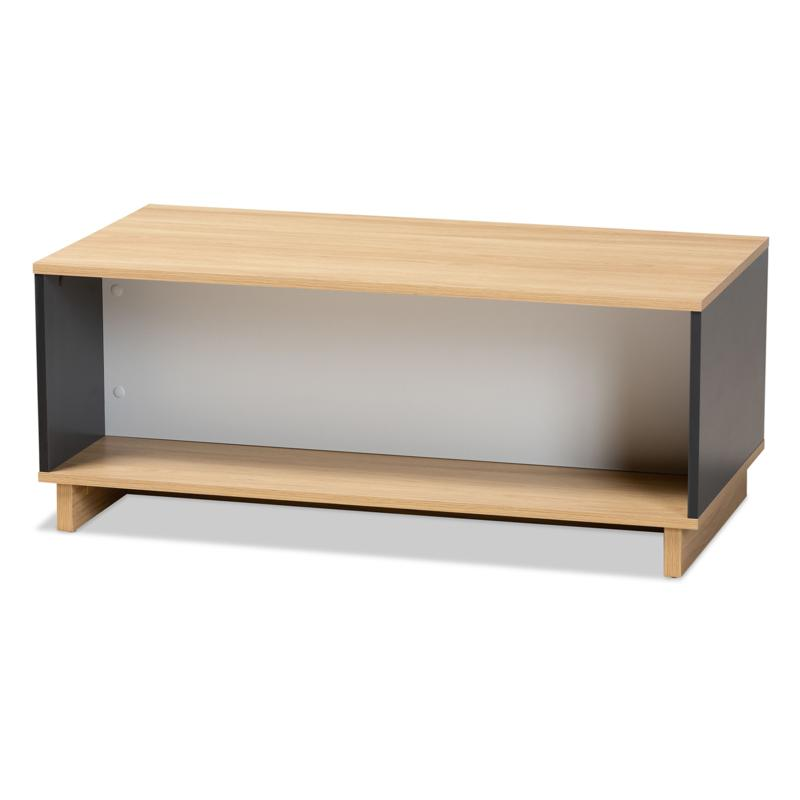Wholesale Interiors Marigold Wood Storage Coffee Table