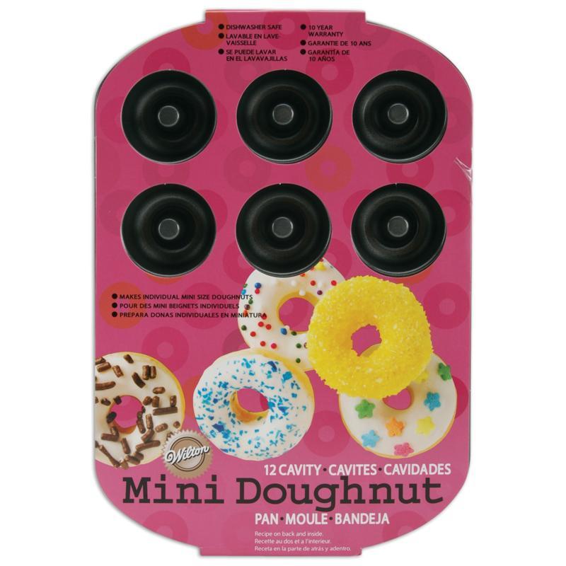 Wilton Mini Doughnut Pan - 12 Cavity