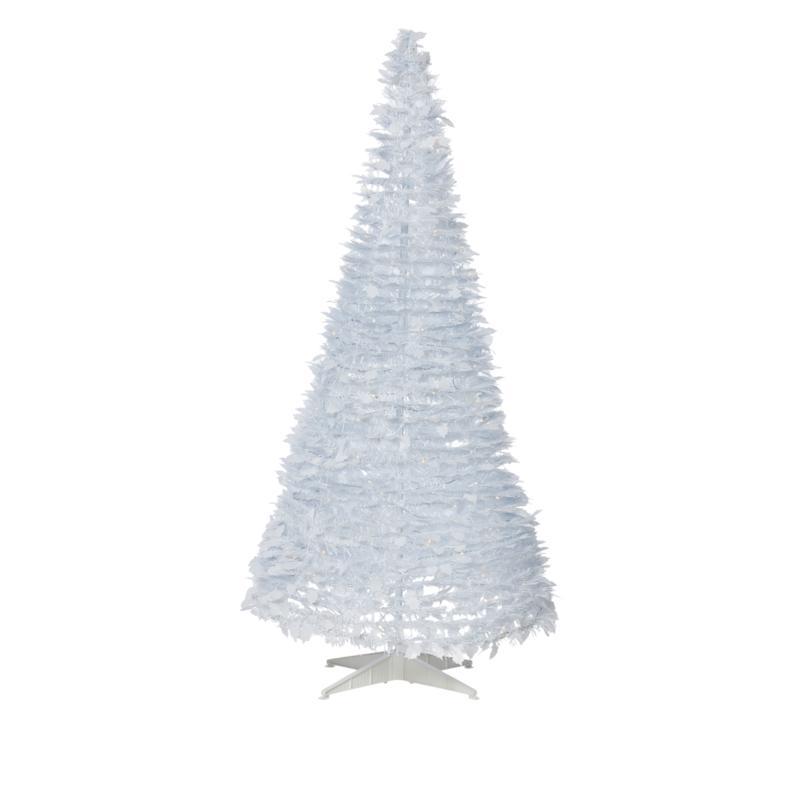 Winter Lane 6 Pop Up White Pine Pre Lit Christmas Tree 8986766 Hsn