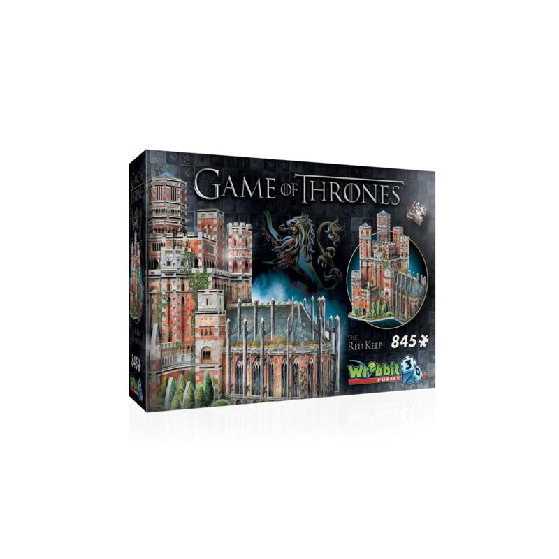 Wrebbit Game of Thrones The Red Keep 435-piece 3D Puzzle
