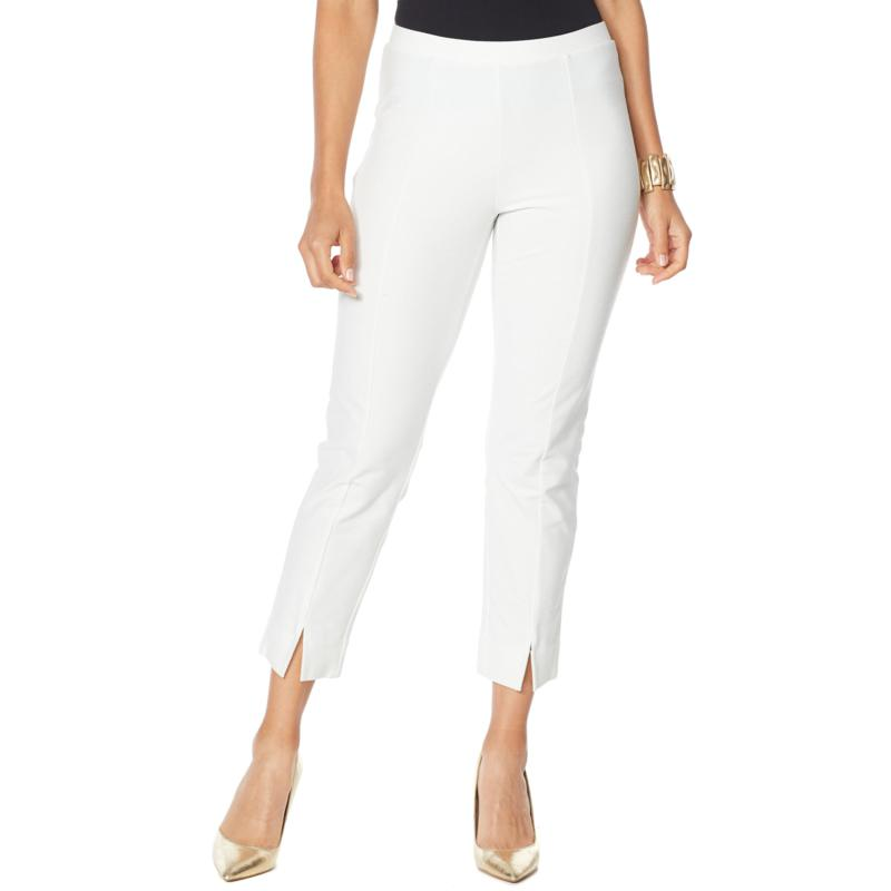 WynneLayers Knit Crepe Ankle Pant