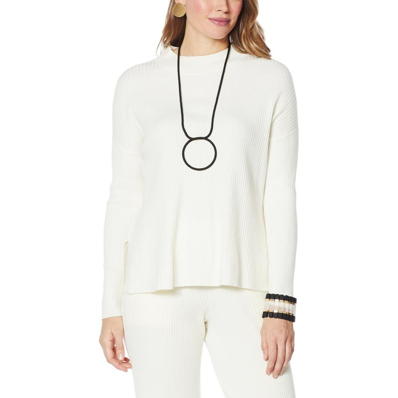 WynneLayers Soft Knit Crew-Neck Sweater