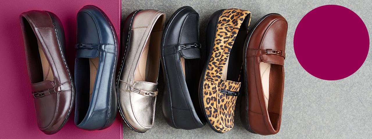 HSN's Today's Special. loafers in different colors and patterns
